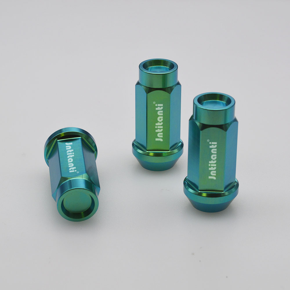 Closed end Gr.5 titanium auto lug nut