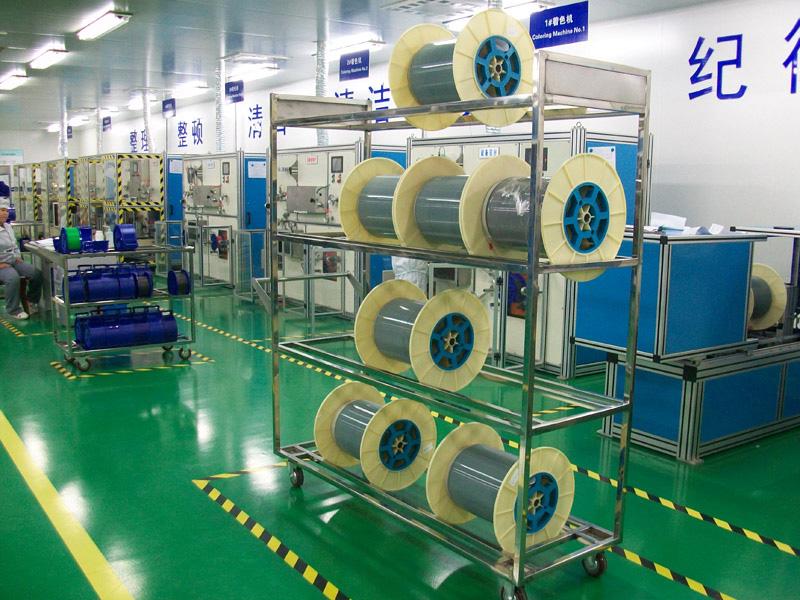 富通住电特种光缆(天津)有限公司不锈钢台车