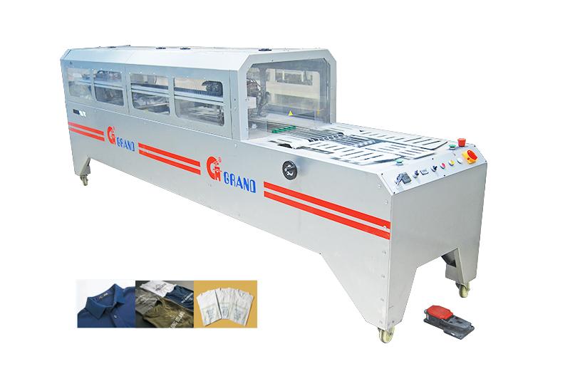 Automatic garment folding & baging machine