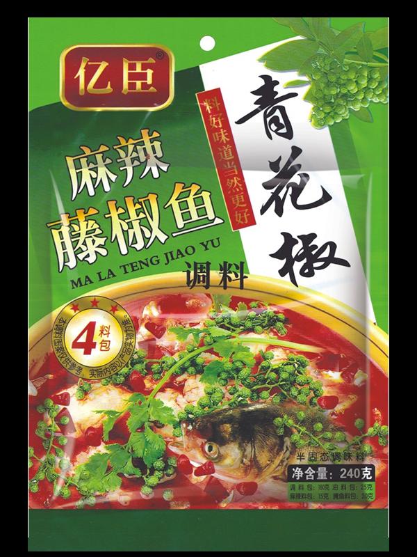 青花椒麻辣藤椒魚240g
