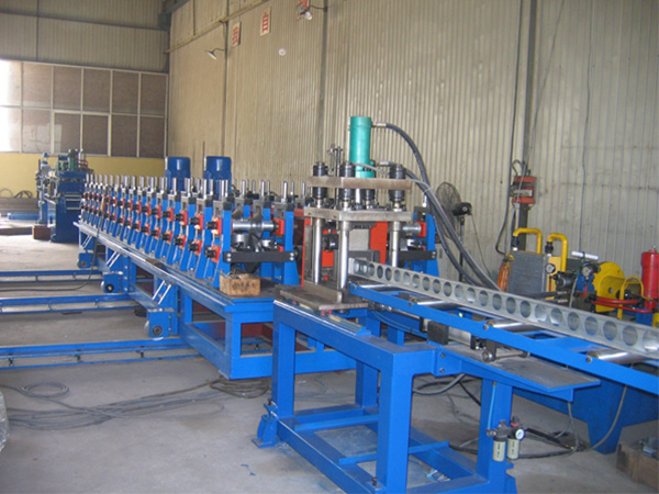 Solar bracket production line