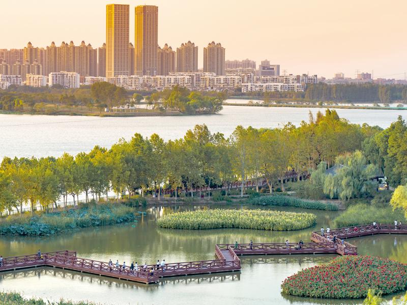 武漢金銀湖亮點片區