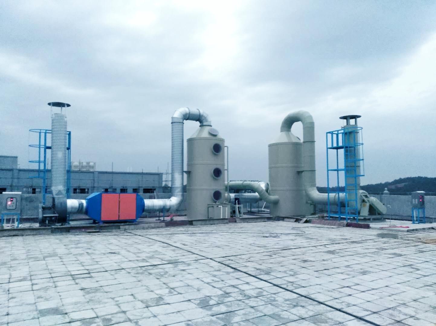 PCB廢氣處理設備工程案例