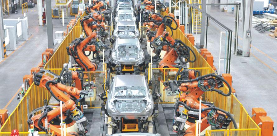 长安福特焊接生产线