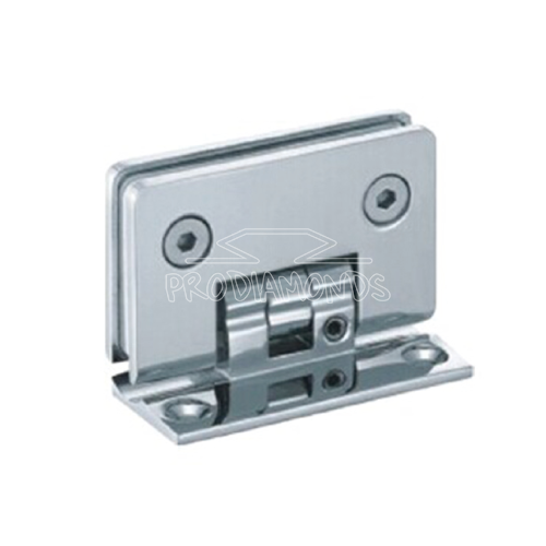 adjustable clicking hinge glass to wall