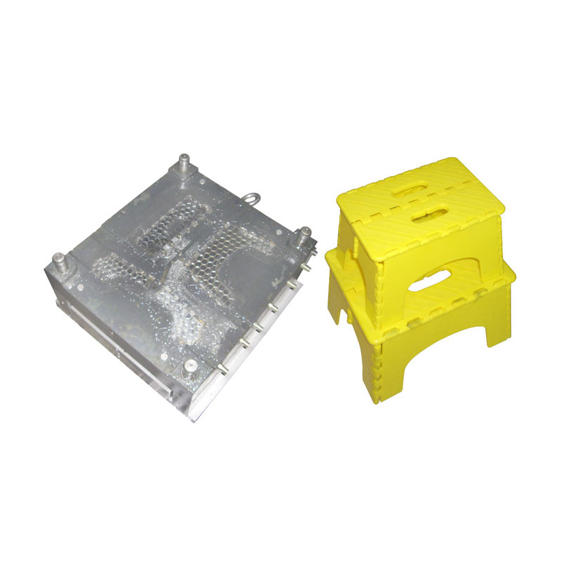 Foldable stool mold