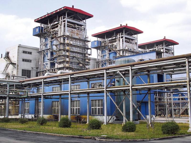 河南龍宇煤化工3*130t/h高溫高壓循環流化床