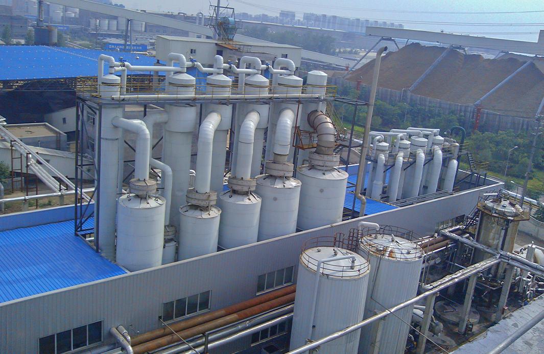 山東造紙企業廢水提取木糖降膜蒸發器裝置