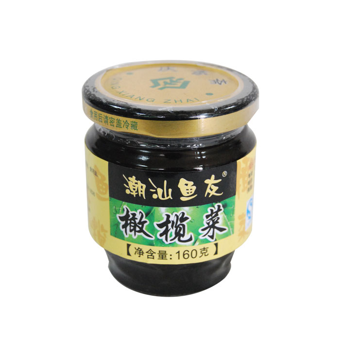 潮汕魚友橄欖菜(160克)