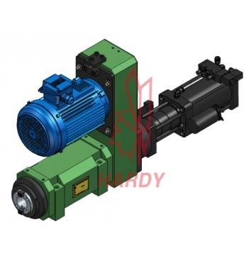 SC80-BT50 气动打刀缸/搪铣主轴头
