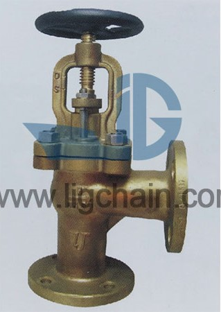 DIN 86261 Bronze Flanged Stop Check Valves