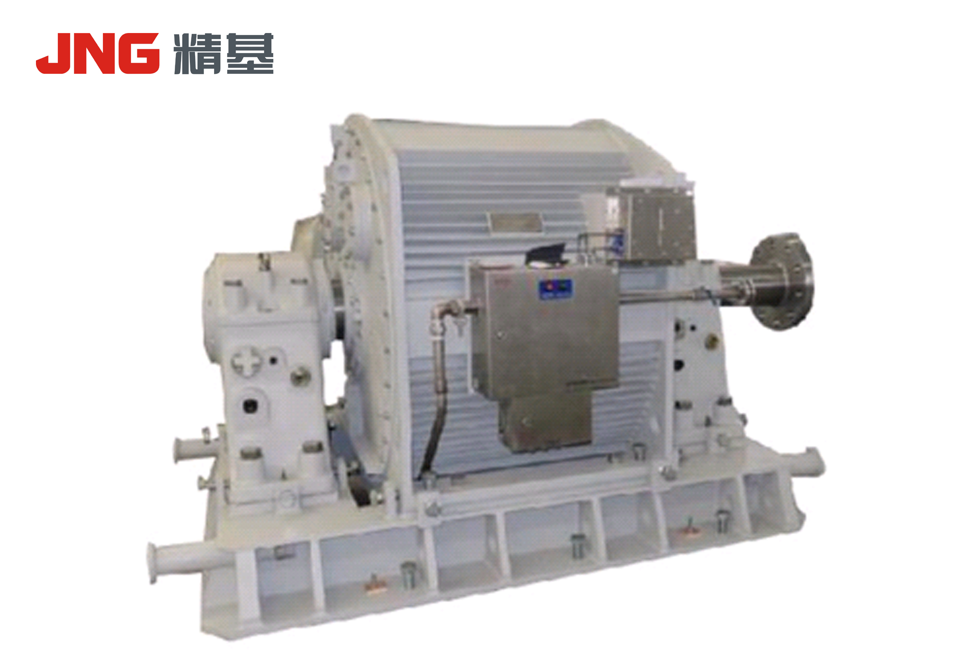 Three-phase permanent magnet synchronous motor for reciprocating compressor