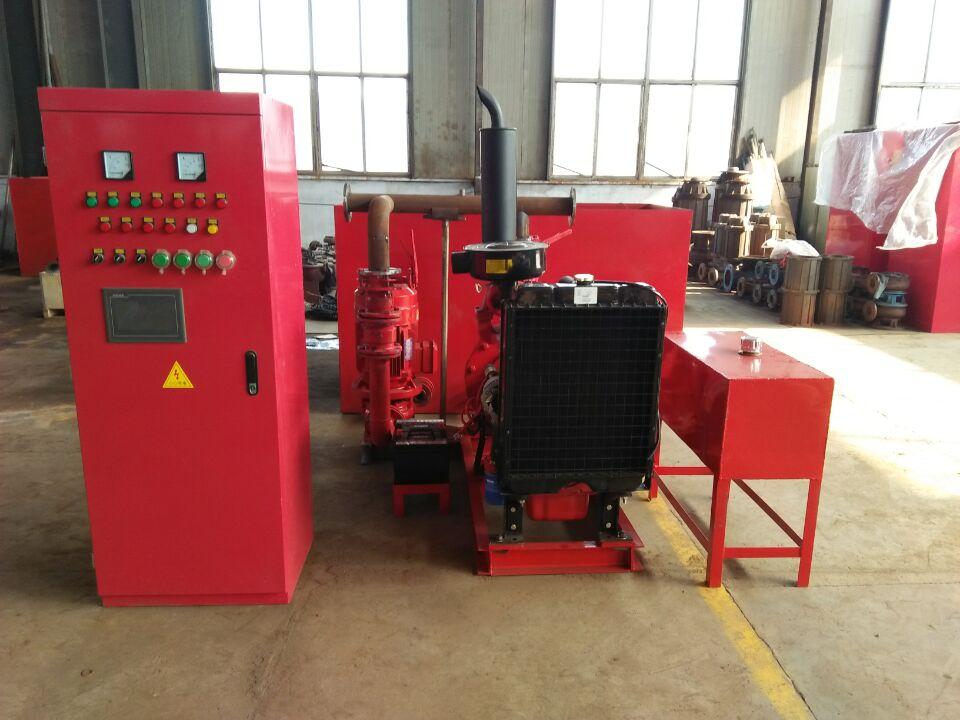 消防柴油機電泵雙動力給水設備