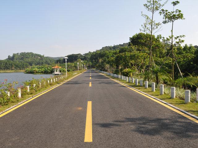Qilinshan area municipal supporting facilities project
