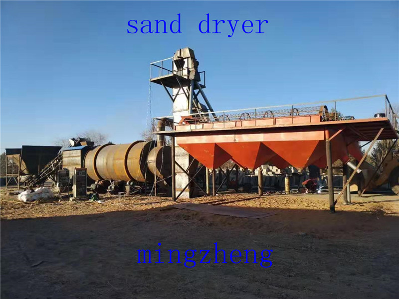 The special sand dryer