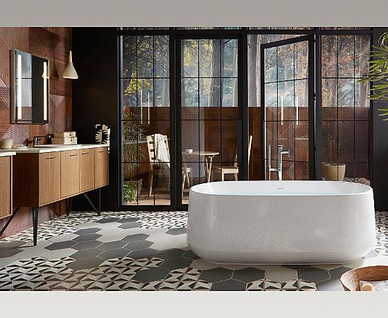絲瑞靈雅石浴缸(含排水)