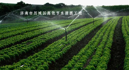 濟南市歷城區高效節水灌溉工程