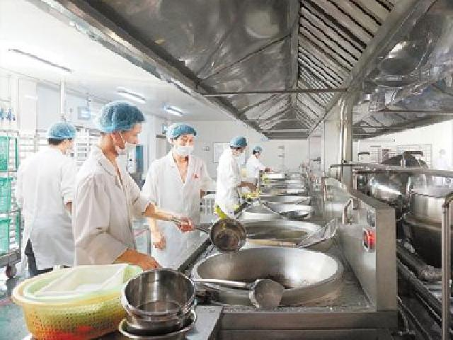 Student Kitchen Project of a University in Zhejiang