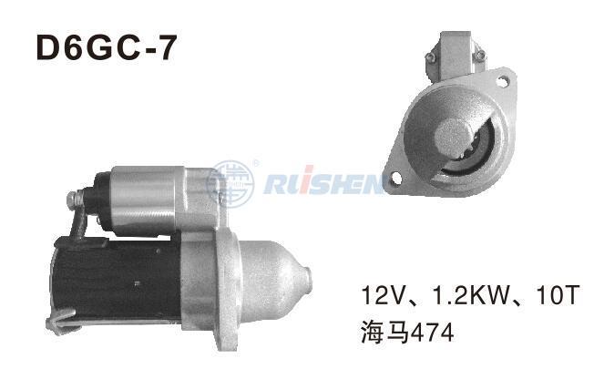 型号:D6GC-7