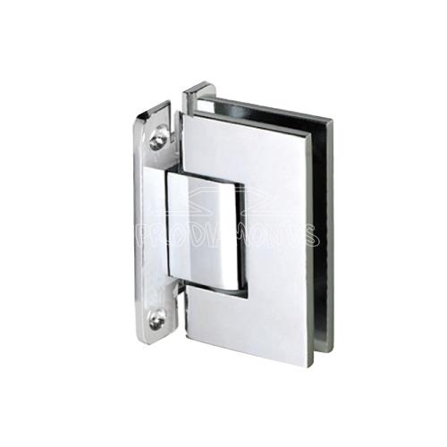 Shower door hardware H plate shower hinge
