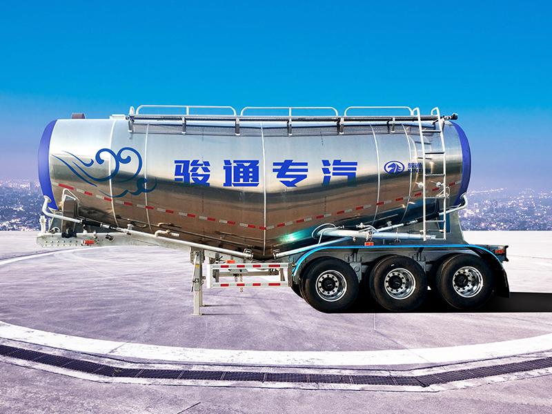 罐车-铝合金粉粒物料运输车