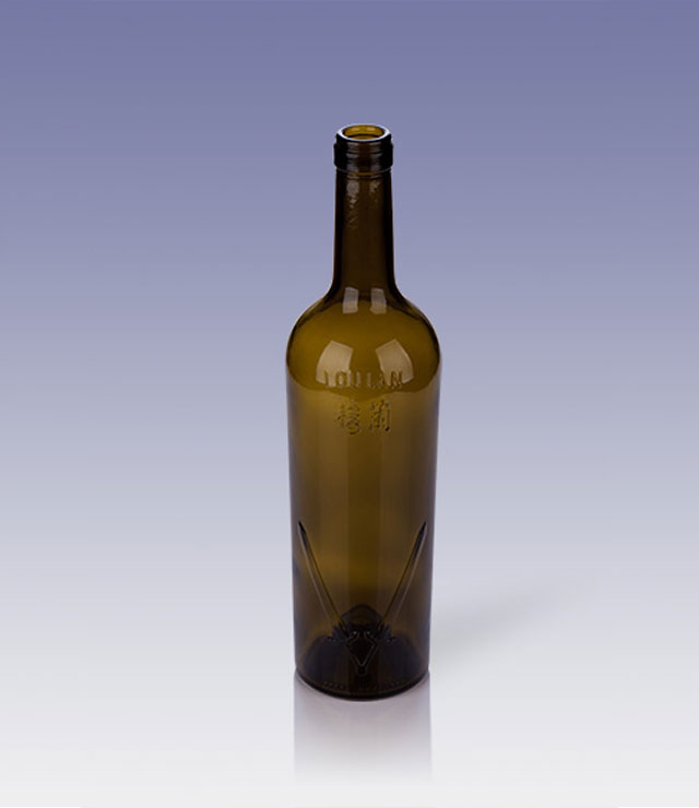 750ml bordeaux bottle