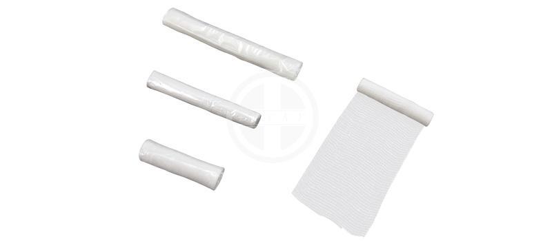 Gauze Bandages With Woven Edge