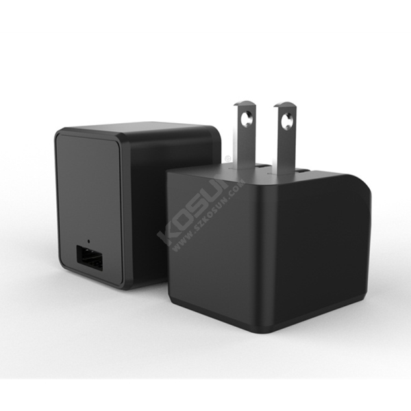 5V/2.4A Foldable Prong Wall Charger
