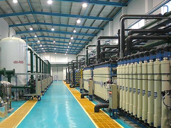 鍋爐補給水(除鹽水/化學水)處理工程解決方案