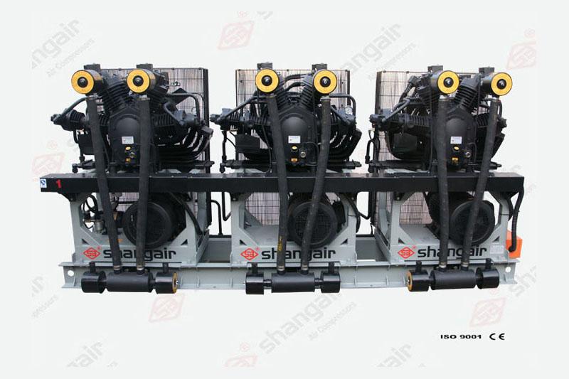 09SH系列空气压缩机(立式三机)
