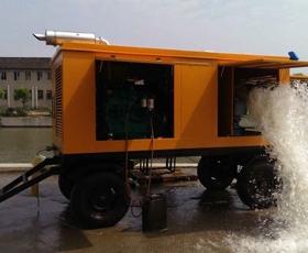 智能應急排澇泵車