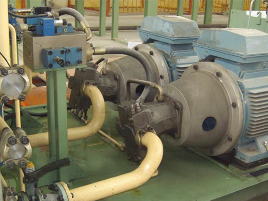 鋼管收口機液壓控制系統