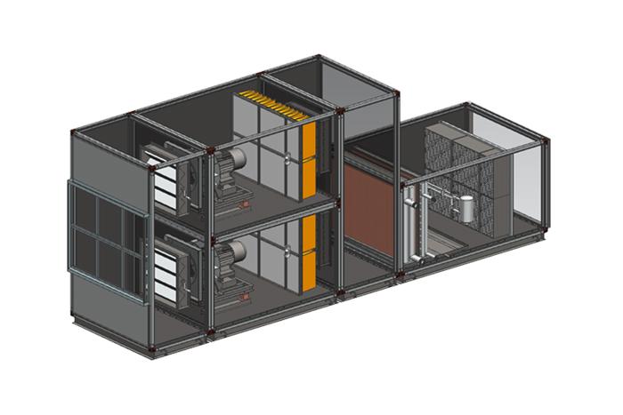 雙通道型空調箱
