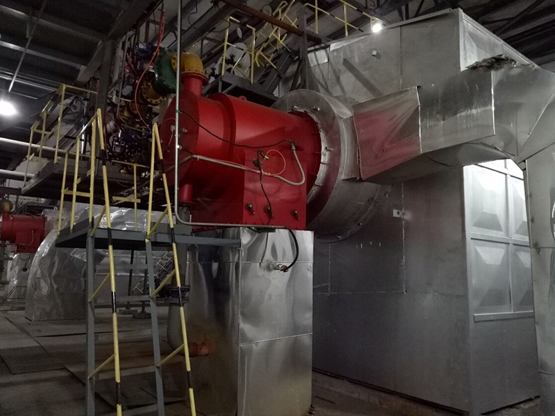 40t/h methanol burning waste gas boiler