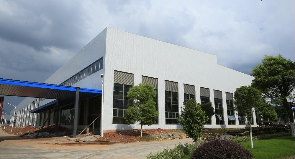 银河表记江西工业园二期厂房工程