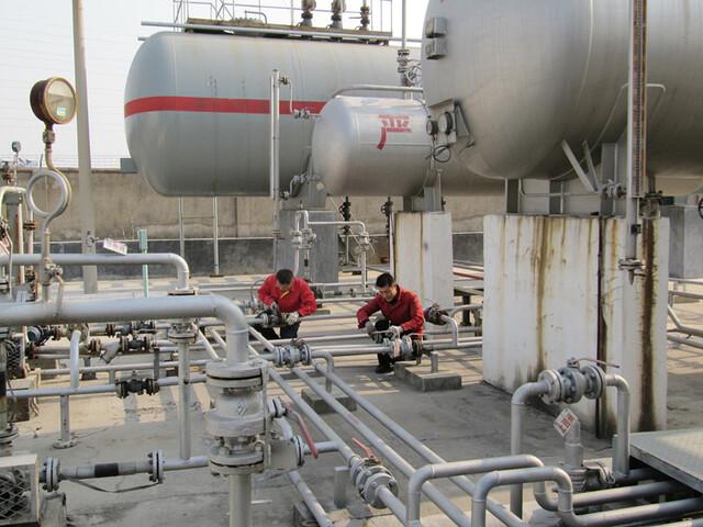 图三:临潼区燃气公司阀门应用 燃气行业项目