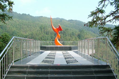 井冈山观景台