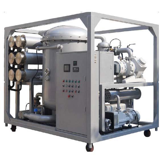 變壓器油高效雙級真空濾油機