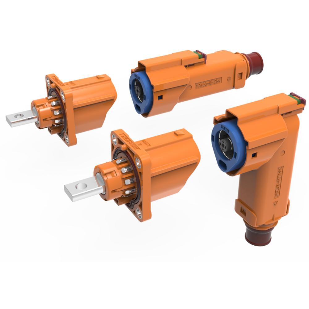 LVP800系列 塑料单芯高压连接器