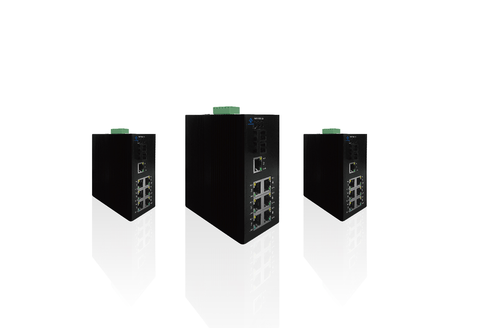 Industrial-grade unmanaged switches