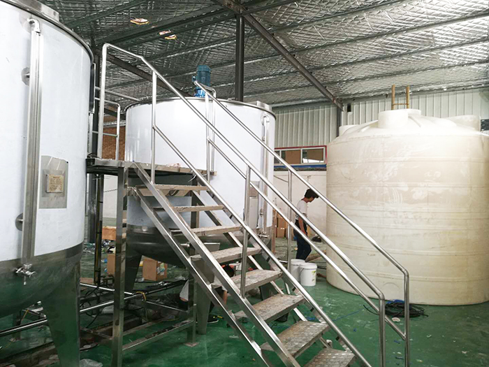 日產40噸流水線,雙5噸生產設備