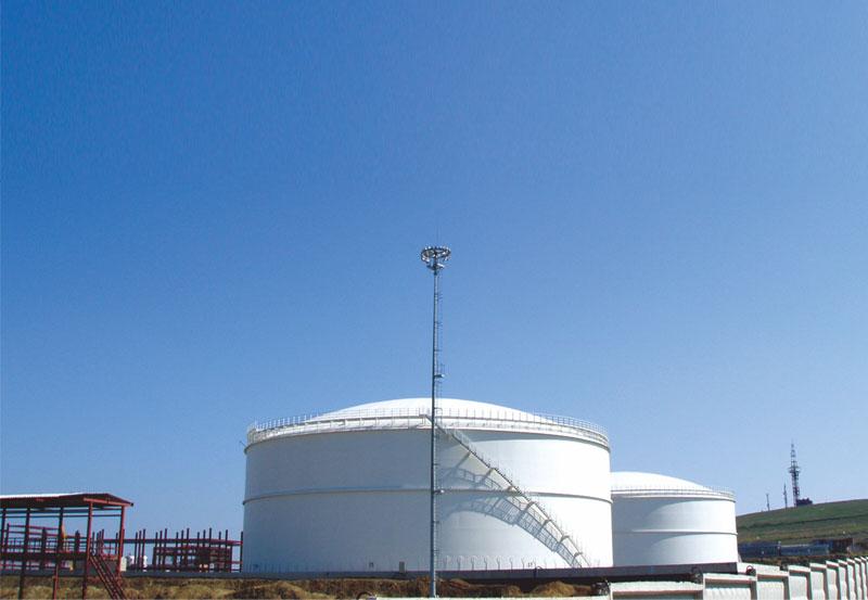 俄罗斯塔氏集团合成氨厂低温液氨储库项目