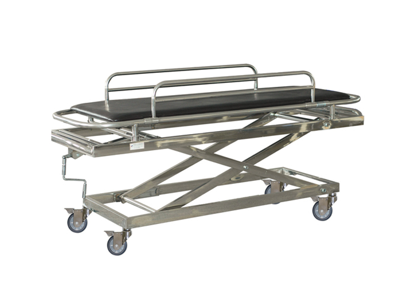 B-4 Height adjuetable stainless steel emergency wheel stretcher