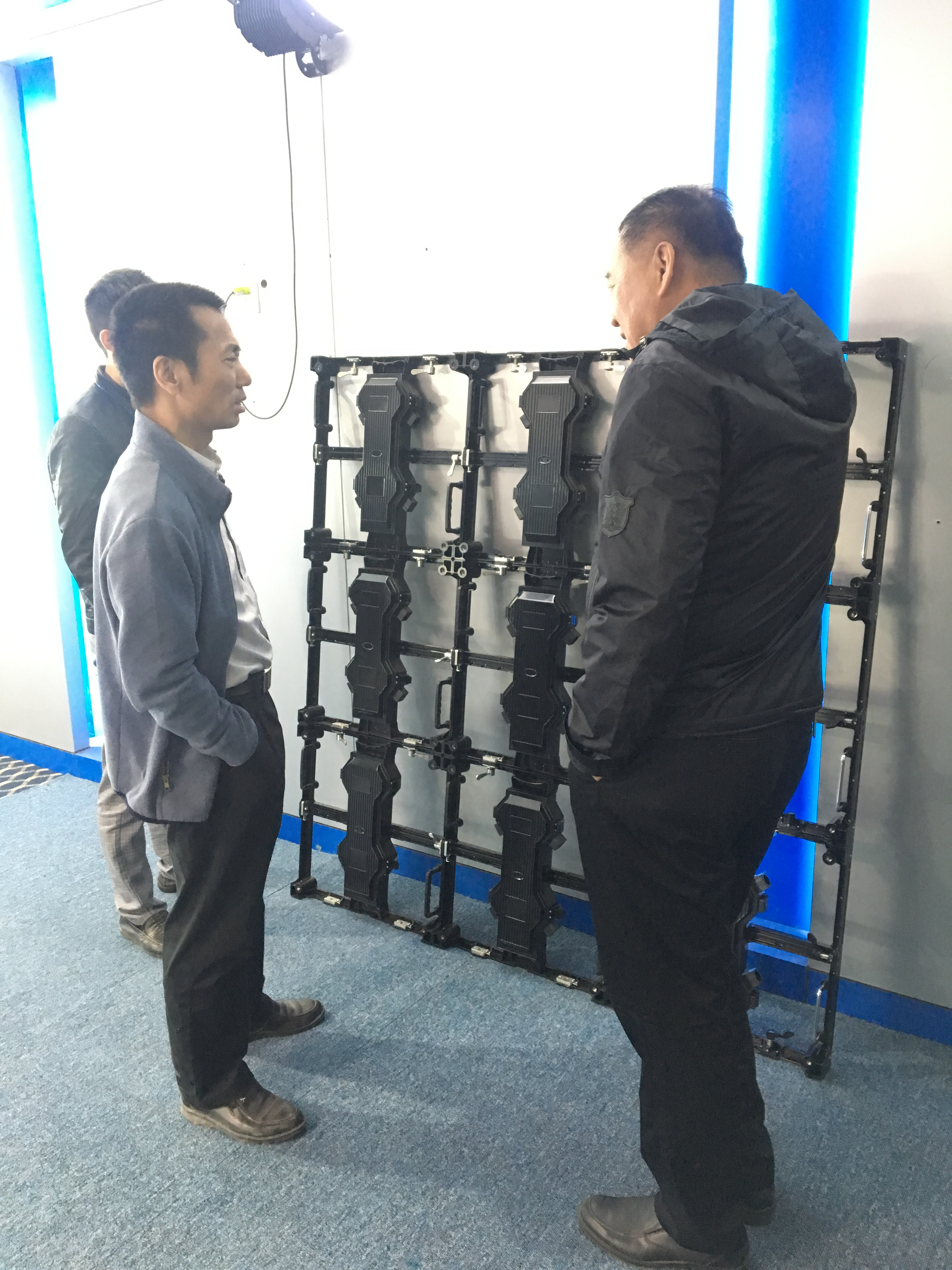 深圳海能達通信股份有限公司總工程師到訪
