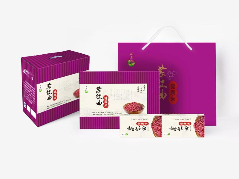 紫紅曲健康米
