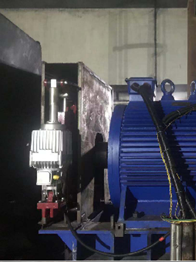 Permanent Magnet Motor for belt conveyor in a power plant