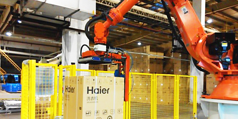 Palletizing Project in Haier