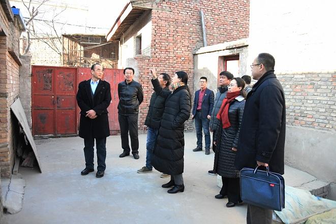 省政府国资委及甘肃电气集团领导慰问我公司困难党员