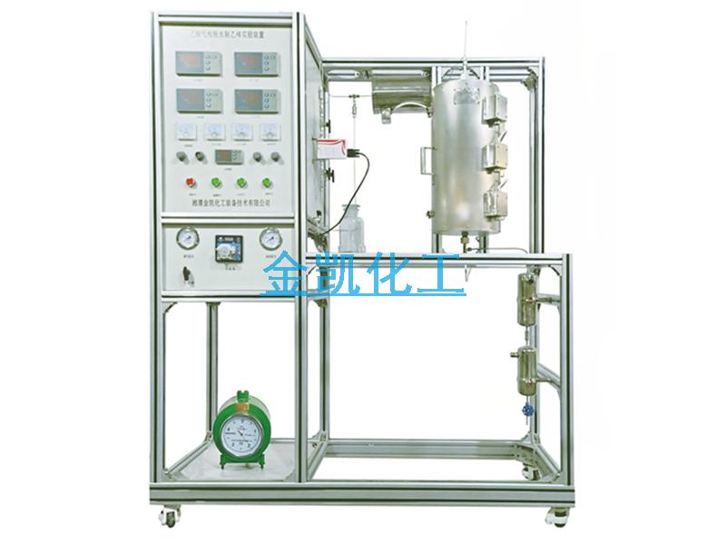 乙醇氣相脫水制乙烯實驗裝置