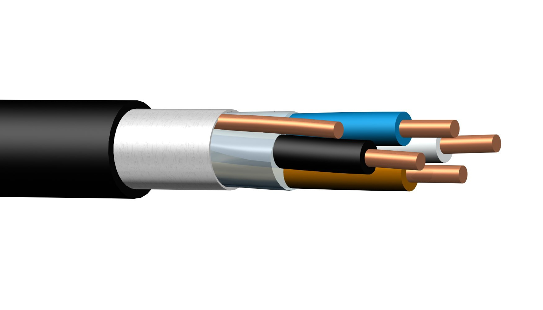 XLPE insulated control cable